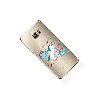 Casos hermosos, cubiertas, Para samsung galaxia s8 s8 más caja del teléfono patrón transparente unicornio patrón suave tpu para samsung galaxia s7 s6 borde más s6 ( Modelos Compatibles : Galaxy S8 Plu Galaxy S8