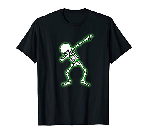(Dab T-Shirt Dabbing Skeleton Halloween Tee Deal With It)