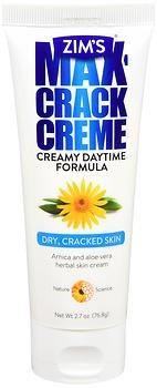 Zim's Max Crack Creme Creamy Daytime Formula - 2.7 oz tube, Pack of 4