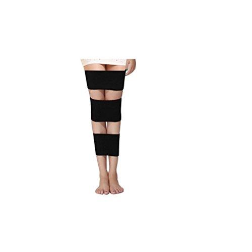 O-type Legs ROSENICE Leg Corrector Belt Correction Straightening Belt for O Legs and X Legs (Black) by ROSENICE