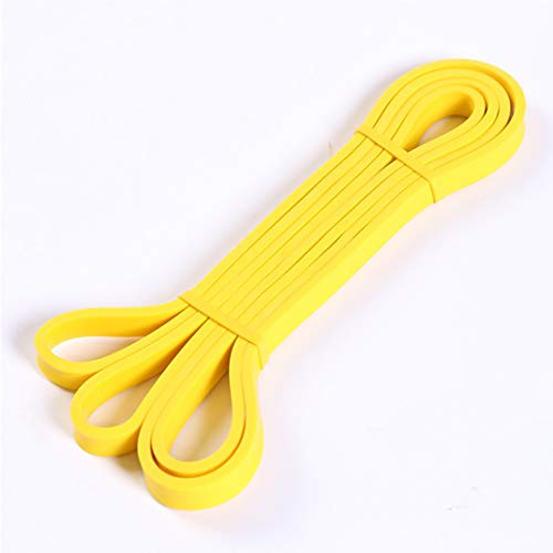 Metme Resistance Bands, Pull Up Bands, Heavy Duty Exercise Bands for Body Streching, Powerlifting, Resistance Training, Single Band Yellow