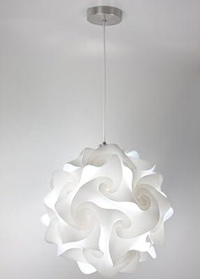 EQLight PH3X01 Hado Light Extra Large Contemporary Pendant, White