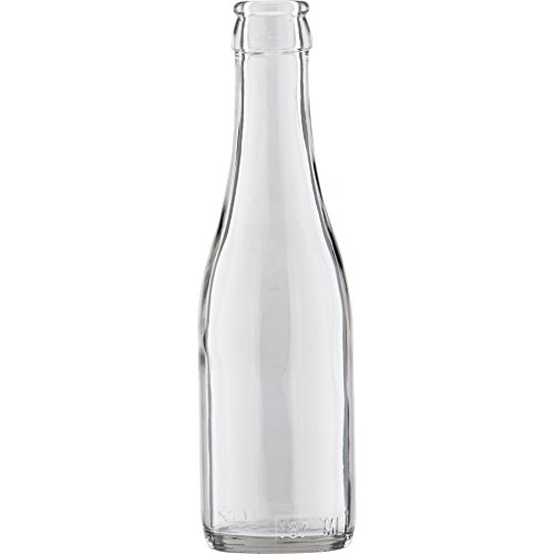 Bottles Clear Champagne (The Cary Company 30WCCB 187 mL Clear Champagne Bottles, 2.05