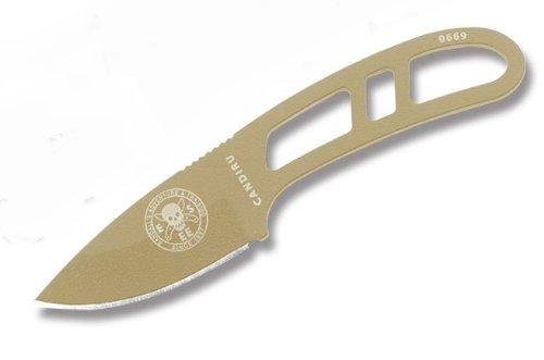 ESEE-Knives-Desert-Tan-CANDIRU-Fixed-Blade-Knife-w-Polymer-Sheath-ESEE-CAN-DT