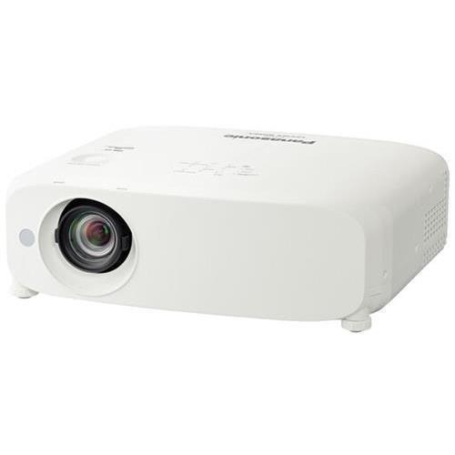 Panasonic PT-VX600U Portable LCD Projector, 5500 ANSI Lumens, XGA 1024 x 768 Native Resolution, Contrast Ratio of 10000:1, 4:3 Aspect Ratio, Multiple Input Options Including HDMI (Display Lcd Matrix Active)