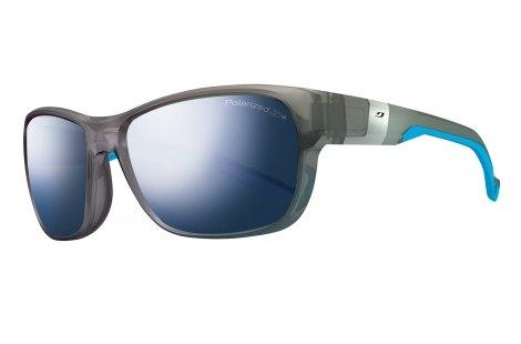 Julbo Coast Performance Sunglasses, Transparent Blue, Polar 3+ Mlayer Blue Lens