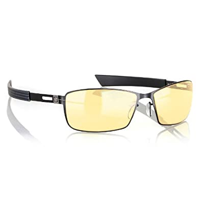 Gunnar Optiks Vayper Full Rim Advanced Video Gaming Glasses with Headset Compatibility and Amber Lens Tint