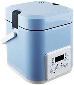 L&B-MR Robot De Cocina Multifunción con Voz, Programable Horas, Capacidad De Programas Automáticos Y Calentamiento Envolvente MAX, Azul: Amazon.es
