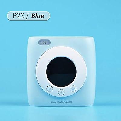 Gycdwjh Bluetooth Impresora, Portatil Mini Impresora Etiqueta de ...