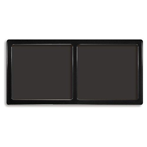 DEMCiflex Dust Filter for NCASE M1 Version 1, Side, Black Frame/Black Mesh (Best Air Cooler For Ncase M1)