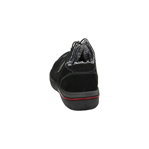 991 Waldläufer Ville Pour Schwarz De 691 Chaussures Lacets À Femme 395951 7446E