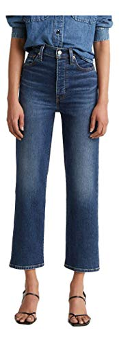 Levi's Women's Ribcage Straight Ankle Jeans, Pick A Draw, 27 (US 4)