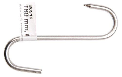 Meat Hook, 160 mm, Stainless Steel Kraftmann 80916