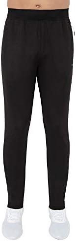 Skora Mens Sweatpants Slim Fit Stretch Running//Jogging Performance Pants Mens Lightweight Gym Running Joggers