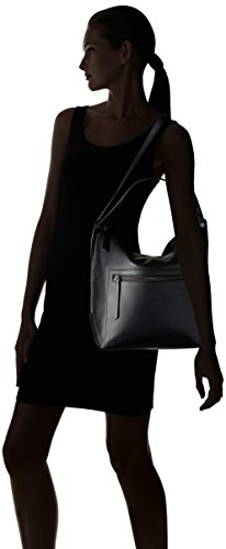 Ecco 9105045, Bolso de Hombro Mujer Negro (Black)