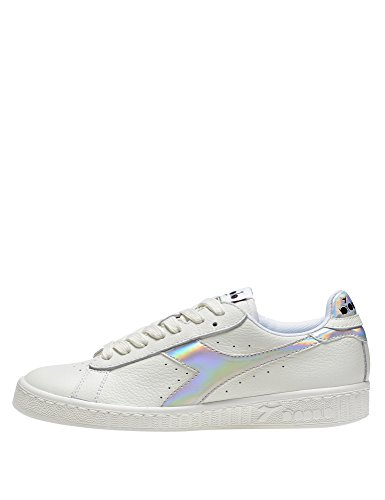 Diadora Unisex Adults' Game Hologram Sneaker Low Neck White EYbRGHYd