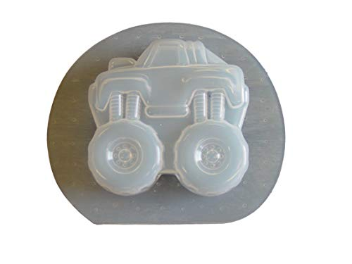 - Monster Mud Raised Truck Soap or Plaster Mold Qty-2 4755