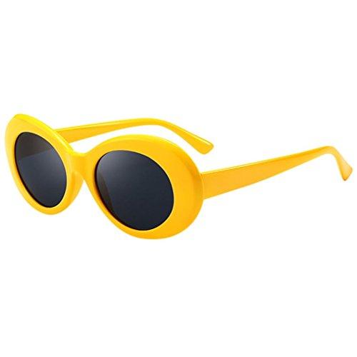 di Occhialoni Super unisex da protezione Eyewear amp; Occhiali sole Sunglasses Occhiali grunge da Cool Oval Shades Occhiali vintage Occhiali sole Rapper Ovale Uomo retrò K Hiroo Donna Bx8gq5wY