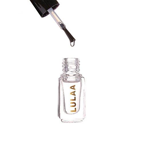 (Nail Art Polish,Putars Women Sexy Magic Super Gloss Nails Surface Oil Top Clear)