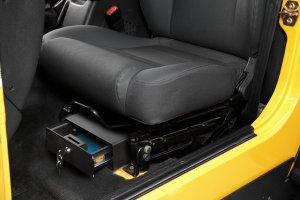 Bestop 42641-01 Bestop Underseat Lock Box Underseat Storage Box Underseat Lock - Lock Under Box Seat