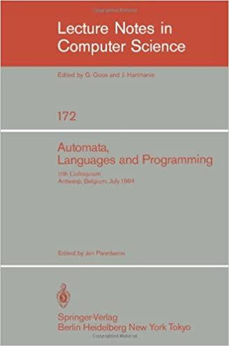 Automata, Languages, and Programming: 11th Colloquium,