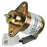 fuel shut off shutdown solenoid 17594-6001-4 kubota yanmar sa4569t