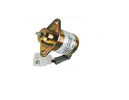 Fuel Shut Off Shutdown Solenoid 17594-6001-4 Kubota Yanmar SA4569T -  Aftermarket