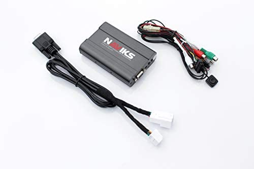 NAViKS HDMI Video Interface Compatible with 2002-2009 Lexus SC430 Add TV, DVD Player, Smartphone, Tablet, Backup Camera All Items Sold Separately