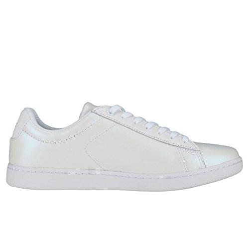 White White Scarpe Carnaby 5 Ginnastica da Lacoste Donna 318 Evo wCzWv8q