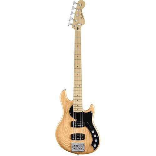 Fender 5 String Deluxe Dimension Bass V, Maple Fingerboard, Natural (0143812321