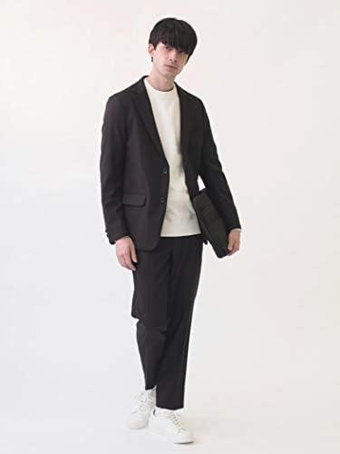 [シップスエニィ メンズ] スーツ ウールライク セットアップ ストレッチ メンズ 717100002