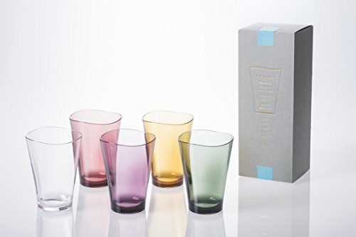 - Plakira [Unbreakable], Award Winning Design, Plakira' Cups, 11 Oz, Set of 5 with 5 Colors (Clear, Pink, Yellow, Violet, and Green), Perfect for Kids and Parents