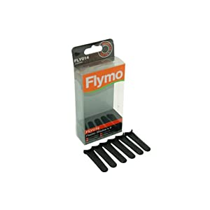 31rMRVunKvL. SS300  - Flymo Genuine Part Number 5138469902 Lawnmower Plastic Blades Fly014 FLY14. For FLYMO Micro lite, Minimo, Hover Vac, Mow n Vac