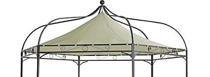 Dachplane Ersatzdach Pavillondach für Pavillon MODENA 6-eck grün wasserdicht