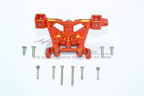 - GPM Traxxas E-Revo 2.0 VXL Brushless (86086-4) Upgrade Parts Aluminum Rear Body Post Mount - 1Pc Set Orange