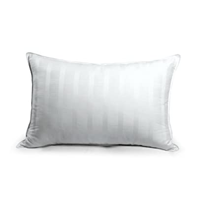Newpoint 600 Thread Count Jacquard Gel Fiber Filled Bed Pillow Pad