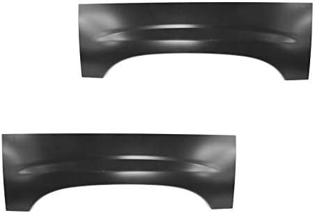 Amazon Com Wheel Arch Repair Panel Upper Rear Pair Set Of 2 For Chevy Silverado Gmc Sierra Automotive