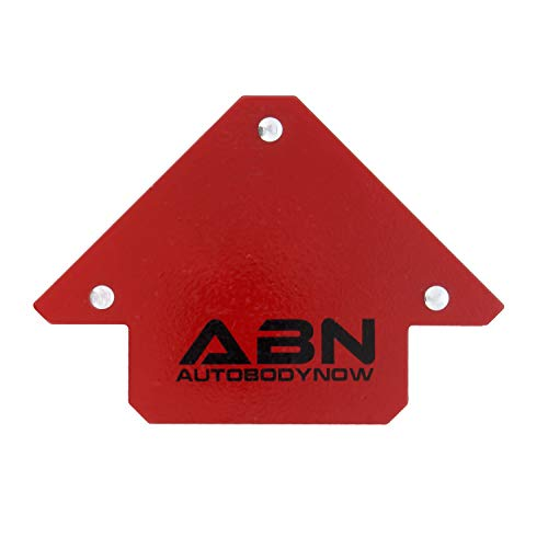 ABN Arrow Welding Magnet – Metal Working Tools and Equipment – 45, 90, 135 Degree Angle Magnet, 25 LB Holder