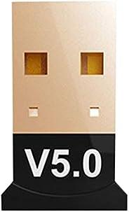 VILLCASE Adaptador USB Bluetooth 5. 0 Dongle Wireless Dongle Desktop Receptor Transmissor Bluetooth para Mouse