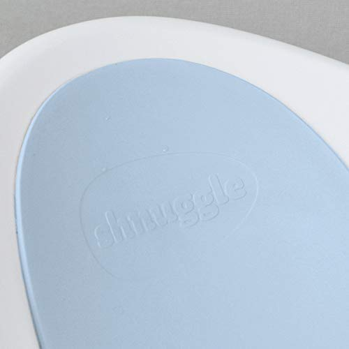 Shnuggle Baby Bath Tub - Compact Support Seat for Newborns, Wash Infants and Make Bath Time Easy, 0-12m, Blue