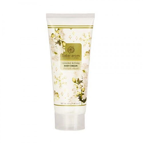 Price comparison product image Sabai-arom Jasmine Ritual Body Cream 200g. Replenish Moisture, Soothe Tired and Sore Skin.