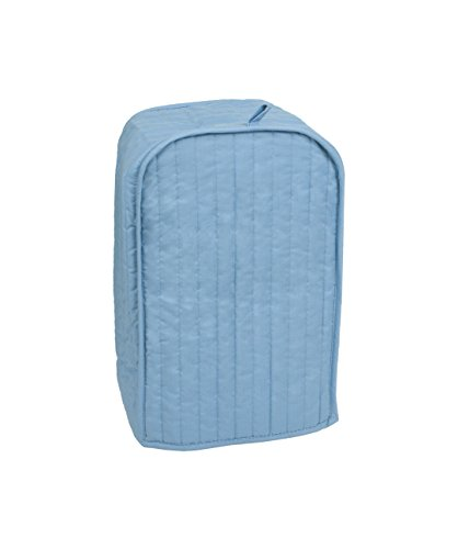 RITZ Polyester / Cotton Quilted Stand Mixer or Coffee Maker Appliance Cover, Dust and Fingerprint Protection, Machine Washable, Light Blue