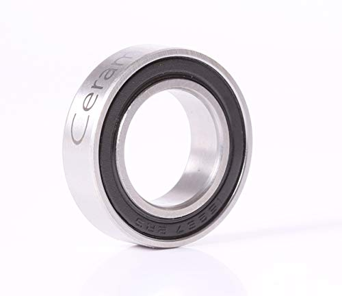 (ACER Racing 15267 2RS Bearing 15x26x7 Si3N4 Ceramic Sealed Ball Bearings)