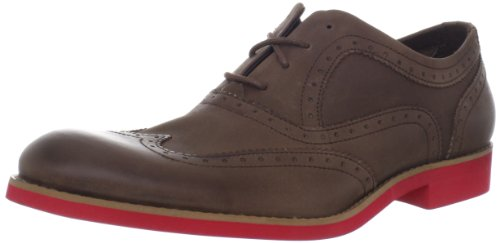 1883 by Wolverine Mens Horace Shoe Brown Upper/Red Sole