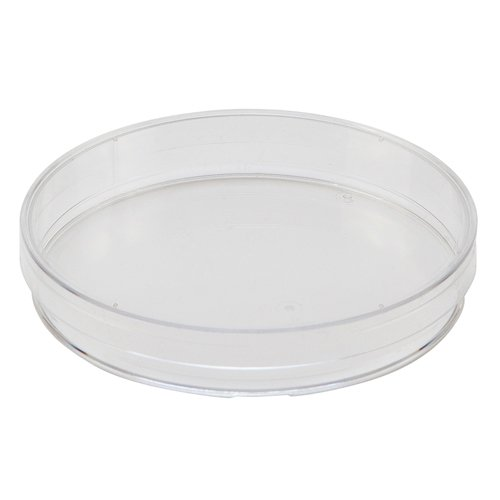 Polystyrene Plastic Transparent Single Use Petri Dish with Vents (500 Petri Dishes)