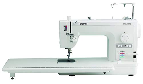 Brother Quilting and Sewing Machine, PQ1500SL, High-Speed Quilting and Sewing, 1500 Stitches Per Minute, Automatic Needle Threader, Retractable Drop Feed Dog Control (Renewed) (Brother Pq1500sl High Speed Quilting And Sewing Machine)