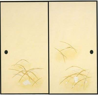 太陽 高級織物ふすま紙 S-925
