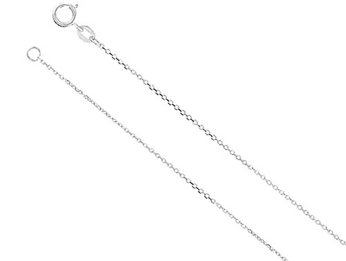 CZ Best Friends Forever Pendant Necklace 18 25x13MM Rhodium-Plated Sterling Silver