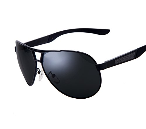 MS sunglasses Classic Aviator Fashion Men's UV400 Polarized coating Driving Mirrors - S Men Fashion Sunglasses