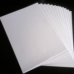 Printable Sticker Photo Paper A4 Size 50 Sheets Count 135 gr 8,3 x 11,7 Self Adhesive for All Inkjet Printers Full Labels Easy to Peel Good Quality Great Value